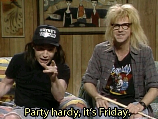 What People Want >> Party Hardy it's Friday - Picture Quotes