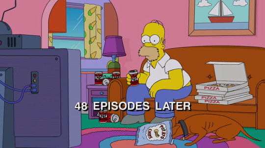 48 episodes later - The Simpsons - Picture Quotes
